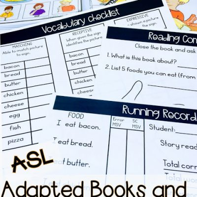 How to use Adaptive Books during Guided Reading with DHH students