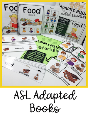 ASL Adapted Books for Guided Reading