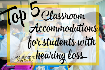 TOP 5 Classroom Accommodations for Students with Hearing Loss