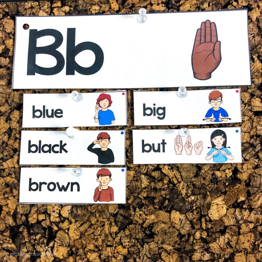 American-sign-language-word-wall