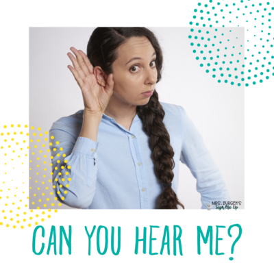 Creating a successful communication environment for the hard-of-hearing student in your classroom.