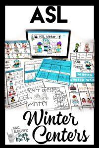 ASL-winter activities